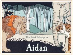 I love these bookplates, though I'm not sure I could ever actually get Max to share his trove.