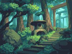 Toro Garden by ADrawingMan