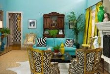 House of Turquoise: Marmalade Interiors Room Colors, Eclectic Home, Room Design, Interior Design, Living Room Colors, Colorful Living Room Design, Home, Colourful Living Room, Living Room Designs