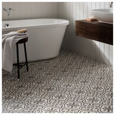 Think I have decided on the Berkeley tiles from Topps Tiles for my upstairs bathroom floor with a large white tile on the walls, undecided between the charcoal & slate though, I really like the charcoal pictured above but I feel the slate may give the bathroom a brighter airer feel #bathroom #bathroomideas #bathroominspiration #bathroomstyle #newhome #homestyle #homedesign #homedecor #homeinspo #homeinspiration #berkleytile #floortiles