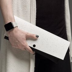 Introducing EvaClutch Two, a smaller size clutch. Essential.  #design #style #love #creative #minimal #womensfashion #fashion #handmade #clutch #applewatch #handbag #lommerbags #lommer