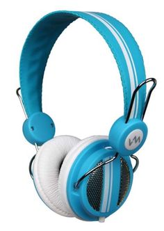 VM Audio Dynamic On-Ear Headphones (Blue) / SRHP5 VM-SRHP5-BL,    #VM Audio Headphones