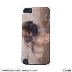 I love Pekingese iPod Cases iPod Touch 5G Cases