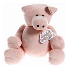 Pink Plush Pig $6