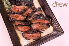 Michael Symon's Grilled Skirt Steak #thechew