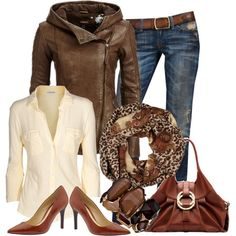 """""""Leopard Scarf Contest"""" by christina-young on Polyvore"""