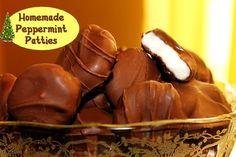 Peppermint Patties  http://www.momspantrykitchen.com/peppermint-patties.html