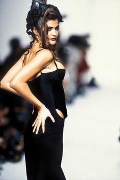 Helena Christensen for John Galliano Spring/Summer 1992