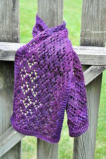 Molly Scarflette by Erica Lueder free pattern 10 ply (Lorna's Laces Shepherd Worsted here) 225 yds