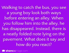 #163. Writing prompt