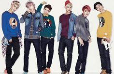 TEEN TOP!!! Yes I'm an angel (fanclub) and yes I <3 teen top. Who's heard their new song  I'm sorry? Well it's good go boys!!!