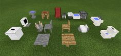 Are you looking for a good way to decorate your Minecraft world? Then, you should pay attention to Voxelation Mod. With 17 additional 3D furniture blocks, they guarantee to bring the high resolution to your game. Most of the furniture comes with a cool design, especially tables and the furnace.... https://mcpebox.com/voxelation-mod-minecraft-pe/