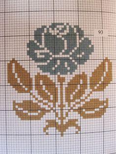 Inspiring thoughts that we adore! Just Cross Stitch, Cross Stitch Rose, Cross Stitch Flowers, Cross Stitch Designs, Cross Stitch Patterns, Cross Stitching, Cross Stitch Embroidery, Cross Stitch Freebies, Crochet Cross