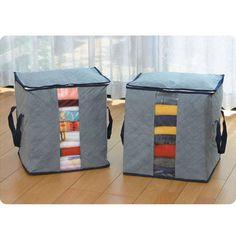 Handy Foldable Large household Convenient Storage Bag for Clothes, Pillow, Blanket, Quilt etc