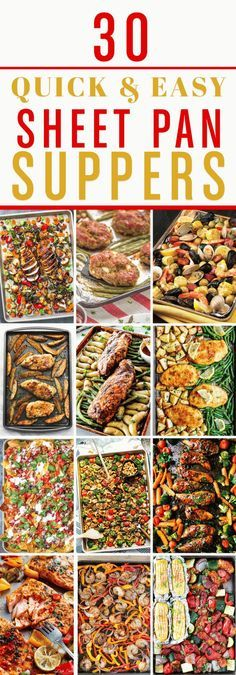 & Easy Sheet Pan Dinners - Momology These sheet pan dinners are your answer to quick, easy, and healthy meals for your family!These sheet pan dinners are your answer to quick, easy, and healthy meals for your family! Easy Cooking, Cooking Recipes, Healthy Recipes, Healthy Meals, Budget Cooking, Easy Meals, Easy Recipes, Quick Meals For Two, Casseroles Healthy