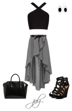 """""""Untitled #949"""" by julz28520 ❤ liked on Polyvore featuring Caroline Constas, BCBGMAXAZRIA, Chinese Laundry, Étoile Isabel Marant, Givenchy and Liz Claiborne"""