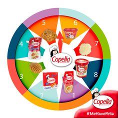 ¿En qué número te gustaría que quedara la ruleta #Copelia? #DiviérteteConCopelia