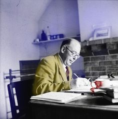 "C.S. Lewis on Why We Read - How great books both change us & make us more ourselves. ""Those of us who have been true readers all our life seldom fully realize the enormous extension of our being which we owe to authors""."