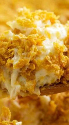 Funeral Potatoes ~ A popular Utah casserole, these Funeral Potatoes are good for more than just funerals... This classic potato casserole is comforting and crowd-pleasing.
