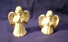 Guardian Angel Salt and Pepper Shakers NEW