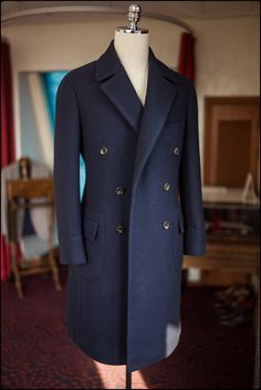 Blue overcoat by BnTailor