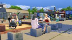 Sims 4 | Urban Park Stuff #gatochwegchristel buy mode new objects community lot kids