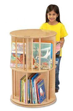 Jonti-Craft - Jonti-Craft® Book-Go-Round Preschool Furniture, Preschool Rooms, Preschool Classroom, Kids Furniture, Classroom Decor, Furniture Stores, Furniture Design, Starting A Daycare, Diy