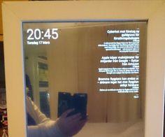 "In this project I will show you how I made a Magic Mirror that shows the date, time, some news and a little phrase at the bottom. You will use a Raspberry Pi, a computer screen and a webpage to make it look like you have ""a smart mirror"".Everything on the mirror will be in Swedish (on the pictures), but I will translate what you need. I made this with a Raspberry Pi model B, but I will recommend that you use a Raspberry pi 2 or better. The first Raspberry Pi can't really handle the ..."