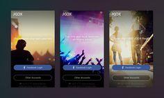 JOOX APP UI (service tour)