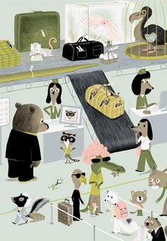 Marc Boutavant illustration