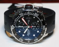 Alpina Extreme Diver 300 Chronograph Automatic Watch Hands On   alpina