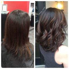 Before&After Subtle Caramel Balayage by @amy_ziegler