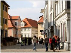 ERFURT (GERMANY): Have a stroll through small shops and large department stores, enjoy the charming cafés and cozy restaurants Erfurt has to offer.