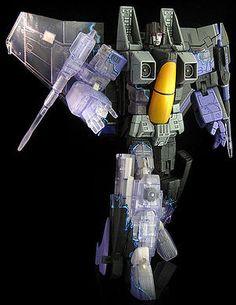 Mid-Warp Skywarp Masterpiece Transformers Custom