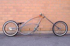 Love this chopper inspired bike