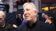Alan Rickman interview at the BFI London Film Festival (2014)