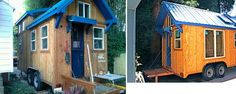 Built by Molecule Tiny Homes - 137 sq ft, 17 ft long, 2 lofts.