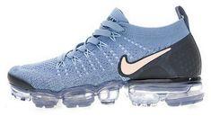 8c67064409b54 Nike Air VaporMax 2 Light Blue Pink Black 942843-401 Cheap Sneakers