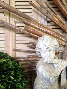 wood and stone patina