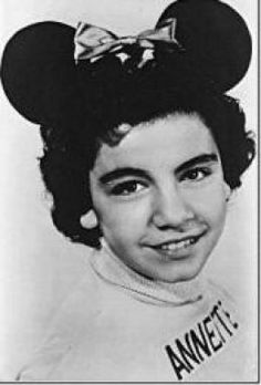 America's sweetheart of the late 50's and 60's. Annette Funicello One of the Mouseketeers on The Mickey Mouse Club tv show