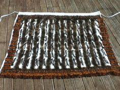 Pheasant and jute 2015 otago museum 2015 wedding 2014 matariki 2014 2014 Ella's korowai March 2013 . Flax Weaving, Weaving Art, Basket Weaving, Flax Fiber, Maori Designs, Weaving Designs, Maori Art, Jute, Animal Print Rug
