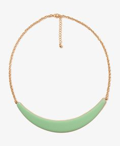 Lacquered Bib Necklace