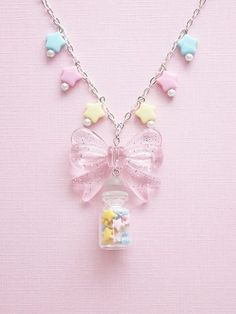 Imagem de kawaii, stars, and necklace