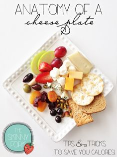A Healthier Cheese Plate | 21 Healthyish Recipes For People Who Can't Live Without Cheese