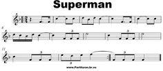 Super Man | Portal das Partituras | Portal dos Violinistas - Partituras Clássicas - Melodias - Partituras Gratis