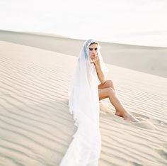 Nothing but a veil. Beauty of Simplicity