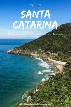 Explore Santa Catarina, o estado mais lindo do Brasil. Repleto de praias, trilhas e muita beleza natural, SC é destino perfeito no sul do país. Na foto: Bombinhas. Florianópolis, floripa, ilha da magia.