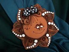 Výsledek obrázku pro obrázky sluníček z keramiky