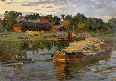Mikhail G. Abakumov Villages Going to Sleep nautical