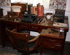 George Bernard Shaw's Desk.